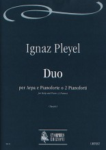 Pleyel, Ignaz : Duo (Wien 1796) for Harp and Piano or 2 Pianos