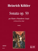 Köhler, Heinrich : Sonata Op. 59 for Flute and Piano (Harp)