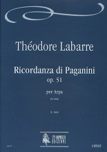 Labarre, Théodore : Ricordanza di Paganini Op. 51 for Harp