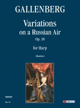 Gallenberg, Robert : Variations on a Russian Air Op. 18 for Harp