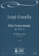 Gianella, Luigi : Duo Concertante Op. 24 No. 3 for Flute and Harp