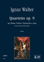 Walter, Ignaz : Quartet Op. 9 for Flute, Violin, Violoncello and Harp