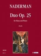 Naderman, François-Joseph : Duo Op. 25 for Harp and Piano