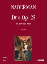 Naderman, François-Joseph : Duo Op. 25 for Harp and Piano