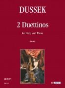Dussek, Jan Ladislav : 2 Duettinos for Harp and Piano