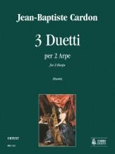 Cardon, Jean-Baptiste : 3 Duos for 2 Harps