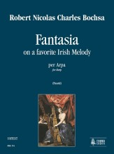 Bochsa, Robert Nicolas Charles : Fantasia on a favorite Irish Melody for Harp