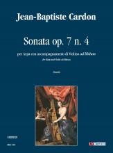 Cardon, Jean-Baptiste : Sonata Op. 7 No. 4 for Harp and Violin accompaniment ad libitum