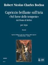 """Bochsa, Robert Nicolas Charles : Capriccio brillante on the Aria """"Nel furor delle tempeste"""" from Bellini's """"Pirata"""" for Harp"""