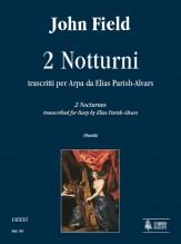 Field, John : 2 Nocturnes transcribed for Harp by Elias Parish Alvars
