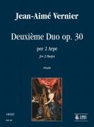 Vernier, Jean-Aimé : Deuxième Duo Op. 30 for 2 Harps