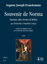 "Franchomme, Auguste Joseph : Souvenir de Norma. Fantasia on Bellini's ""Norma"" for Violoncello and Piano (Harp)"