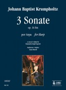 Krumpholtz, Johann Baptist : 3 Sonatas Op. 16 bis for Harp