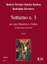 Bochsa, Robert Nicolas Charles - Kreutzer, Rodolphe : Nocturne No. 3 for Harp (Piano) and Violin