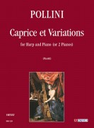 Pollini, Francesco : Caprice et Variations for Harp and Piano (or 2 Pianos)