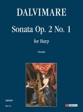 Dalvimare, Martin-Pierre : Sonata Op. 2 No. 1 for Harp