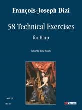 Dizi, François Joseph : 58 Technical Exercises for Harp