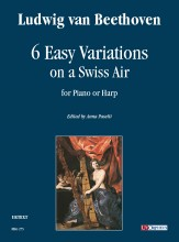 Beethoven, Ludwig van : 6 Easy Variations on a Swiss Air for Piano or Harp