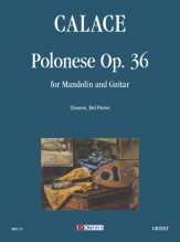 Calace, Raffaele : Polonese Op. 36 for Mandolin and Guitar