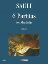 Sauli, Filippo : 6 Partitas for Mandolin