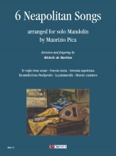 6 Neapolitan Songs arranged for solo Mandolin by Maurizio Pica