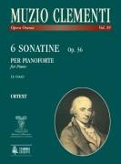 Clementi, Muzio : 6 Sonatinas Op. 36 for Piano