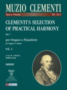 Clementi, Muzio : Clementi's Selection of Practical Harmony WO 7 for Organ or Piano - Vol. 4