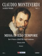 Monteverdi, Claudio : Missa In Illo Tempore for 6 Voices (SSATTB) and Continuo (Venezia 1610) [Score]
