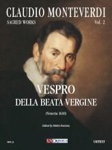 Monteverdi, Claudio : Vespro della Beata Vergine (Venezia 1610) [Score]