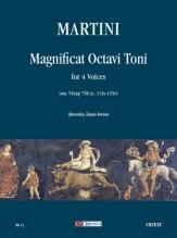 Martini, Johannes : Magnificat Octavi Toni (ms. VEcap 758 cc. 113v-115r) for 4 Voices
