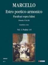 Marcello, Benedetto : Estro poetico-armonico. Parafrasi sopra Salmi (Venezia 1724-26) - Vol. 1: Psalms 1-8
