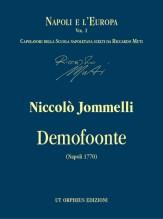 Jommelli, Niccolò : Demofoonte. Dramma per musica (1770) [Score]