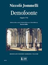 Jommelli, Niccolò : Demofoonte. Dramma per musica (1770) [Vocal Score]