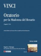 Vinci, Leonardo : Oratorio per la Madonna del Rosario (Napoli 1725) [Vocal Score]