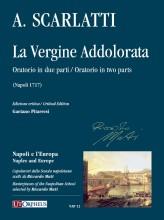 Scarlatti, Alessandro : La Vergine Addolorata. Oratorio in two parts (Napoli 1717) [Score]