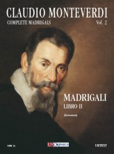 Monteverdi, Claudio : Madrigali. Libro II (Venezia 1590) [Score]