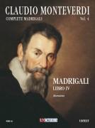Monteverdi, Claudio : Madrigali. Libro IV (Venezia 1603) [Score]