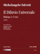 Falvetti, Michelangelo : Il Diluvio Universale. Dialogo a 5 voci (1682) [Score]