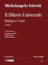 Falvetti, Michelangelo : Il Diluvio Universale. Dialogo a 5 voci (1682) [Vocal Score]