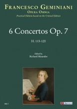 Geminiani, Francesco : 6 Concertos Op. 7 (H. 115-120) [Study Score]