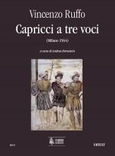 Ruffo, Vincenzo : Capricci a tre voci (Milano 1564)