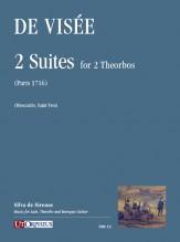 Visée, Robert De : 2 Suites for 2 Theorbos (Paris 1716)