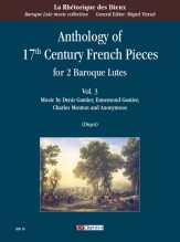 Anthology of 17th Century French Pieces for 2 Baroque Lutes - Vol. 3