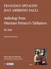 Spinacino, Francesco - Dalza, Joan Ambrosio : Anthology from Ottaviano Petrucci's Tablatures for Lute