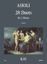 Asioli, Bonifacio : 28 Duets for 2 Horns