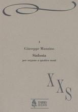 Manzino, Giuseppe : Sinfonia for Organ 4 Hands (1989)