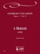 Colarizi, Giorgio : 4 Motets (ATTB)