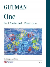 Gutman, Delilah : One for 5 Pianists and 1 Piano (2003)