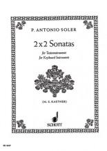 Soler, A. : 2 Sonate per Pianoforte o Clavicembalo (Kastner)
