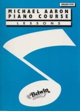 Aaron, M. : Piano course Grade 5